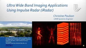 See Through Wall radar imaging Technology – Reverse